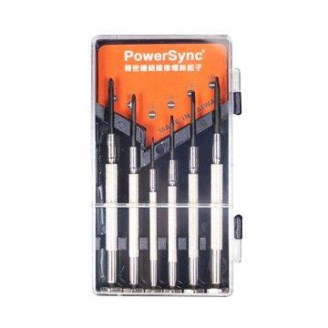 PowerSync 精密鐘錶維修螺絲起子6件組 WHT-002