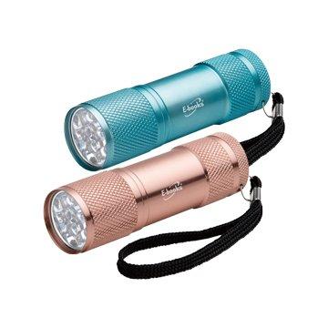 E-books 鋁合金LED輕量手電筒 F3 (2入)