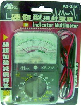 S.C.E 世淇小型指針型電錶