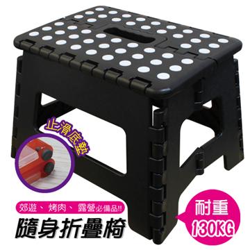 FS-015BK/黑/止滑摺合椅