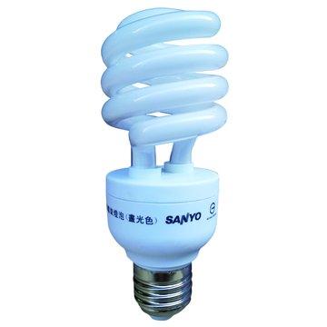 SANLUX 台灣三洋 SFC-23W 23W省電燈泡(白光)(福利品出清)