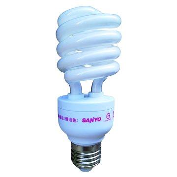 SANLUX 台灣三洋 SFS-23Y 23W省電燈泡(黃光)(福利品出清)