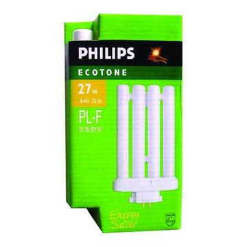 PHILIPS 飛利浦 PL-F27W865 27W燈管(白光)(福利品出清)