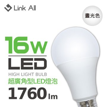 Link All 16W 1760lm LED燈泡(白光)
