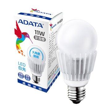 ADATA 威剛 11W大角度LED球泡燈(白光)(福利品出清)