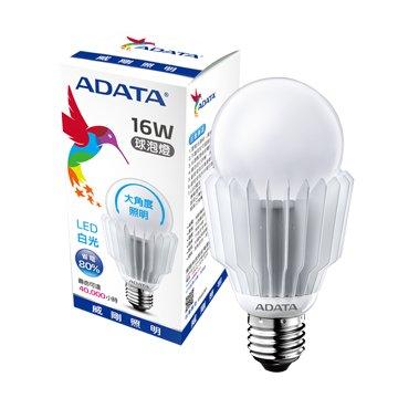 威剛 16W 大角度LED球泡燈(白光)