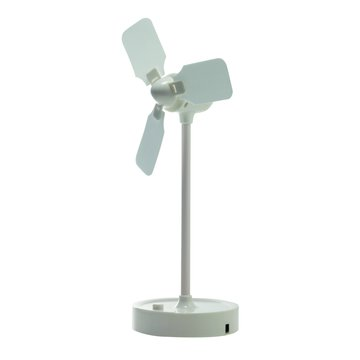 WONDER 旺德電通 USB復古風車風扇(白)WD-9506FU-W