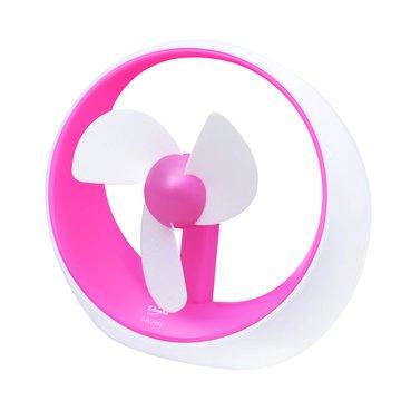 E-books K10 粉-電池USB兩用安全風扇