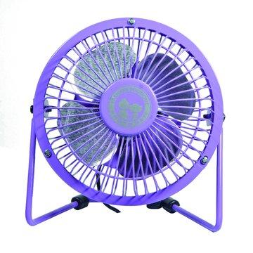 ANDY愛MAY MAY 安迪愛美眉USB4吋紫迷你復古風扇
