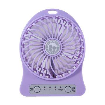 ANDY愛MAY MAY 安迪愛美眉USB超強風扇-紫