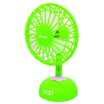iCooby F002 綠色/USB桌上型風扇