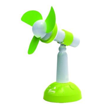 iCooby F003 綠色/USB桌上型風扇