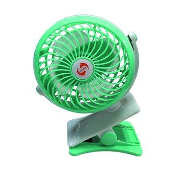 676可充電夾式風扇/湖水藍