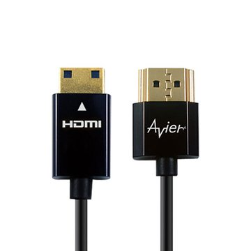 avier HDMI/Mini HDMI 2M 超薄極細線