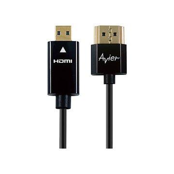 avier HDMI/Micro HDMI 1.5M 超薄極細線
