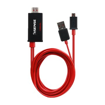 E-SENES 逸盛MHL/HDMI 影音傳輸線 2M