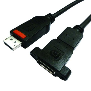 Pro-Best 柏旭佳Displayport 公/母 1.8M 螺絲耳螢幕連接線