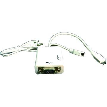 S.C.E 世淇MHL/VGA影像聲音轉換線