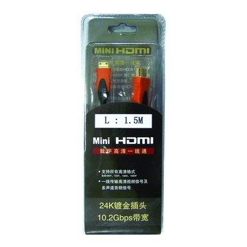 S.C.E 世淇HDMI公/Mini HDMI 1.5M