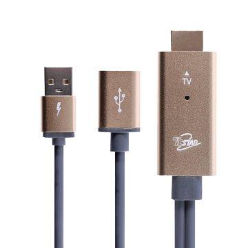 T.C.STAR 升級版 HDMI 手機/平板用 影音傳輸線 3M