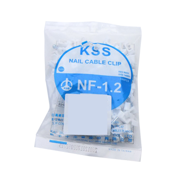 KSS 凱士士 NF-1.2扁線固定夾插釘式