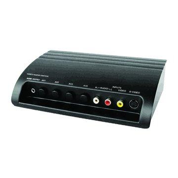 PX 大通AV-41M 1出4入AV+S訊號切換器