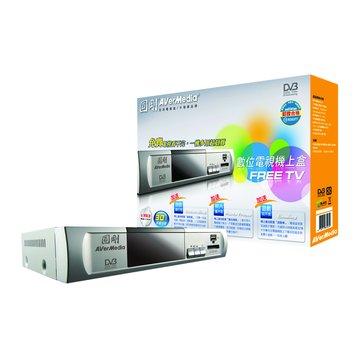 AVER 圓剛 61A218DN00可錄式數位機上盒 -Free TV