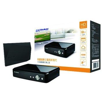 AVER 圓剛 61A211DN HD高畫質機上盒(超值包)
