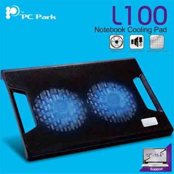 PC Park L100超靜音NB散熱座