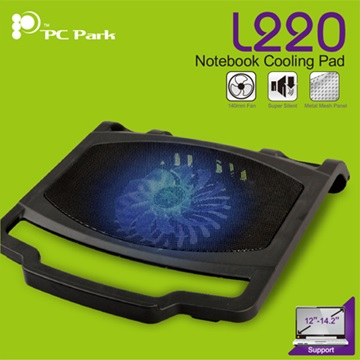 PC Park L220超靜音NB散熱座