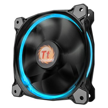 曜越 TT Riing 12cm LED RGB Fan*3 + 控制器