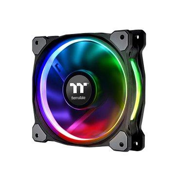 曜越 TT Riing Plus H12 RGB水冷排風扇 (三入)