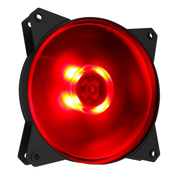 COOLER MASTER 訊凱科技 CM 12公分 紅光LED 風扇 1200轉
