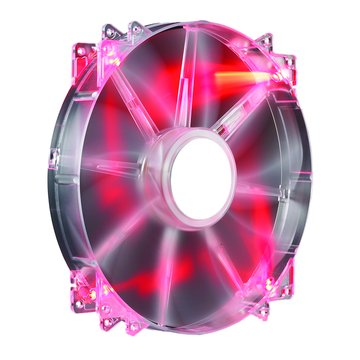 COOLER MASTER CM 20公分紅光LED高風量靜音扇