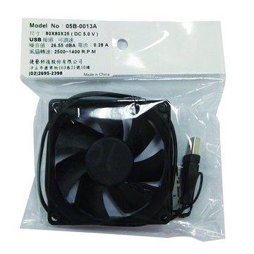 JETART 捷藝 8公分 USB可調速風扇