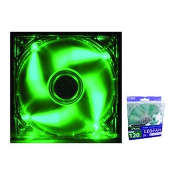 Pro-Best 柏旭佳1225 LED綠光油封軸承風扇