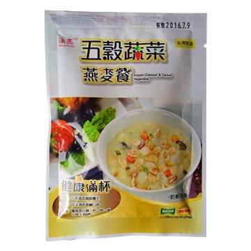 泳亮 IOCVG025 穀粒燕麥餐(五穀蔬菜)25g