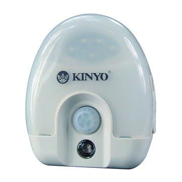 KINYO 金葉 ASL-710智慧 LED感應燈(米白色)(福利品出清)