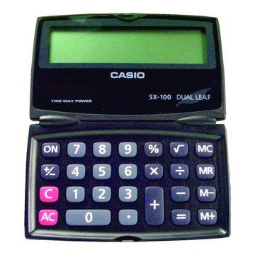 CASIO 卡西歐SX-100 八位元折疊計算機