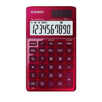CASIO 卡西歐SL-1000TW-RD 10位元攜帶型計算機(激情紅)