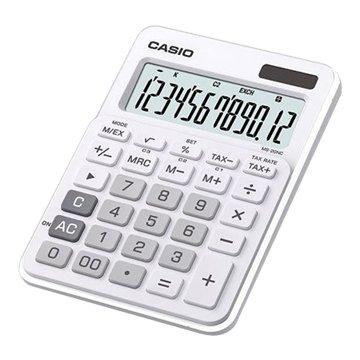 CASIO 卡西歐 MS-20NC-WE 12位元桌上型計算機(白)