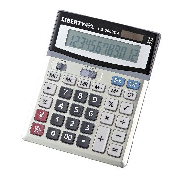 Liberty 利百代 LB-5009 12位元計算機