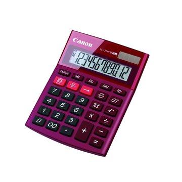 Canon 佳能 LS-120 HI III-RD 12位元計算機(紅)