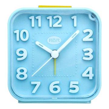 Liberty 利百代LB-257-BU 方形貪睡/夜燈鬧鐘(藍色)