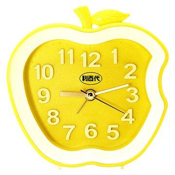 Liberty 利百代LB-192-Y 蘋果造型鬧鐘(黃色)