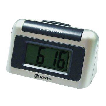 KINYO 金葉 TD-326桌上型液晶顯示鬧鐘(福利品出清)