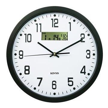 KINYO 金葉CL-151 LCD顯示掛鐘