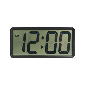 KINYO TD397 簡約大數字電子鐘/黑色