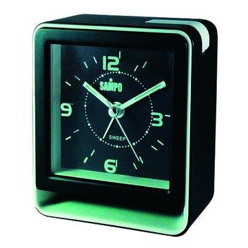 SAMPO 聲寶PY-Z1005ML(B)音樂方形鬧鐘(黑)(福利品出清)
