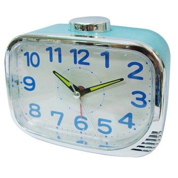 無敵王 SV-731靜音鬧鐘(藍)(福利品出清)